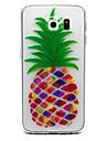 Pour Samsung Galaxy S7 Edge Transparente Relief Coque Coque Arrière Coque Fruit PUT pour Samsung S7 edge S7 S6