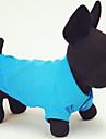 Chat Chien Tee-shirt Rouge Orange Jaune Vert Bleu Incanardin Vêtements pour Chien Eté Printemps/Automne Couleur PleineDécontracté /
