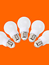 E26/E27 Круглые LED лампы G60 9 SMD 3528 240 lm Тёплый белый Холодный белый Декоративная AC 220-240 V 5 шт.