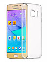 Для Samsung Galaxy S7 Edge Прозрачный Кейс для Задняя крышка Кейс для Один цвет TPU Samsung S7 edge / S7