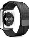 Boucle milanaise pour Apple Watch 38mm bande de montre en acier inoxydable 42mm en acier inoxydable