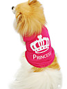 Cat / Dog Shirt / T-Shirt Rose Summer / Spring/Fall Tiaras & Crowns