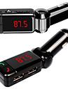 SD TF 카드 USB 드라이브 원격 FM와 자동차 키트 MP3 블루투스 플레이어 FM 송신기 변조기 자동차 키트