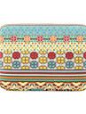 "Sleeve for Macbook 13.3"" Macbook Air 11.6""/13.3"" Macbook Pro 13.3"" MacBook Pro 13.3"" with Retina display Stripes Textile Material Bohemian Style"