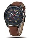 CURREN® Men's Army Design Military Watch Japanese Quartz Leather Strap Cool Watch Unique Watch Fashion Watch