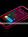 iphone 7 mais chamada levou piscar TPU transparente caso volta para o iPhone 6s 6 mais