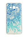 teste padrão azul da mandala TPU soft case para Samsung Galaxy j1 / J5 / J7 / G530 / G360