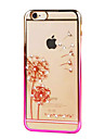 Ultra-thin Diamond Plating Plastic Back Cover for iPhone 6s 6 Plus