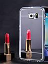 para Samsung Galaxy S7 espelho caso extremo macias claras TPU casos de cobertura S7 S6 ponta mais s5 s4 s3