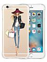 아이폰 기가 6 여왕의 즐겨 찾기 부드러운 투명 실리콘 백 케이스 플러스