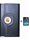 PU cuir bascule smart support 360 cas de rotation pour ipad 4/3/2 + écran stylo Film de protection stylet (couleurs assorties)