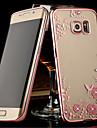 Назначение Samsung Galaxy S7 Edge Чехлы панели Прозрачный Задняя крышка Кейс для Цветы Термопластик для SamsungS8 S8 Plus S7 edge S7 S6