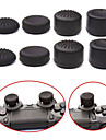 8pcs/Lot Analog ThumbStick Joystick Grips Extra High Enhancements Cover Caps For Sony Play Station PS4 Game Controller