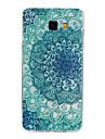 Para Samsung Galaxy Capinhas Estampada Capinha Capa Traseira Capinha Flor TPU Samsung A7(2016) / A5(2016) / A3(2016)