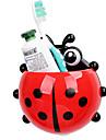 Стакан для зубных щеток Унитаз / Ванна / Для душа Пластик Многофункциональный / Дорожные / Аксессуар для хранения