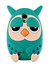 Pour Samsung Galaxy Coque Antichoc Coque Coque Arrière Coque Dessin Animé 3D Silicone pour Samsung S4
