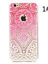 """Mandala flower Painted Pattern Hard Plastic Back Cover For iPhone6/6S 4.7"""""""