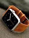 Bande de Montre pour Apple Watch 38mm Bague de rechange classique en cuir boucle de 42mm