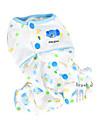 Коты / Собаки Комбинезоны / Пижамы Желтый / Зеленый / Синий / Розовый Одежда для собак Весна/осень Мультфильмы Мода