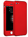 High Premium PC Full Body Cover with Tempered Glass Film Case for iPhone 5/5S/SE