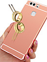 Back Cover Plating Solid Color Acrylic Hard for Huawei P9 / Huawei P8 / Huawei P8 Lite / Huawei Honor 7 / Huawei Honor 5X / Huawei G8