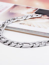 Men's Stainless Steel High Polish Medical ID Chain & Link Bracelet(8inchs) Jewelry Christmas Gifts