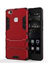 Для Кейс для Huawei / P9 / P9 Lite / P8 / P8 Lite / Mate 8 Защита от удара / со стендом Кейс для Задняя крышка Кейс для Армированный
