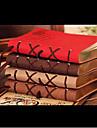 320 страниц Корея ретро Европейский поверхность искусственной кожи творческий ноутбуков (случайный цвет)