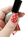 Impression professionnelle / Stamping Nail Polish (10ml/pc, couleurs assorties)