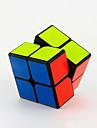 Yongjun® 부드러운 속도 큐브 2*2*2 속도 / 전문가 수준 매직 큐브 블랙 페이드 / 아이보리 Guanpo 안티 - 팝 ABS
