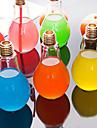 творческая бутылка стеклянная колба стакана воды портативный сок