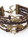Bracelet Bracelets d'amitié Bracelets Alliage Chouette Ancre Vintage Inspiration Quotidien Décontracté Regalos de Navidad Bijoux Cadeau