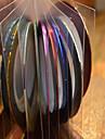 1pcs 1mm 20m unhas ferramentas de linha de fita arte listra etiqueta unha arte beleza decoração nc124 entrega aleatória