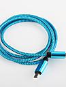 charge rapide aluminium usb 2.0 chargeur câble cordon samsung smartphone android câble général (0,25 m)