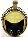 Ожерелье Ожерелья с подвесками Бижутерия Halloween / Повседневные Мода Сплав Серебряный / Медный 1шт Подарок
