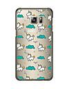 Pour Samsung Galaxy Coque Transparente Motif Coque Coque Arrière Coque Carreaux PUT pour Samsung S6 edge plus S6 edge S6 S5 S4