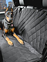 Dog Car Seat Cover Pet Carrier Waterproof / Portable Black Cotton