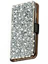Para Samsung Galaxy Capinhas Com Strass / Flip Capinha Corpo Inteiro Capinha Brilho com Glitter Couro PU Samsung J5