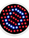 E27 5W 500LM 40Red and 20Blue SMD60 LED Bulbs for Flowering Plant Hydroponic System Led Grow Light (85-265V)