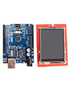 Improved Version UNO R3 ATMEGA328P Board + 2.4 Inch TFT LCD Touch Shield Display Module for Arduino