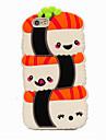 Pour Coque iPhone 6 Coques iPhone 6 Plus Antichoc Coque Coque Arrière Coque Dessin Animé 3D Flexible Silicone pour AppleiPhone 6s Plus/6