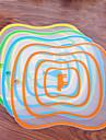 Flexible  Block Wear Soft Antibacterial Chopping Board Plastic Cutting Board(Random Color)