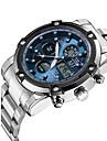 ASJ Masculino Relógio Esportivo Relógio Elegante Relógio de Moda Relogio digital Relógio de Pulso Japanês Quartzo DigitalLCD Cronógrafo