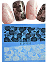 1pcs New Nail Art Lace Sticker Colorful Flower And Rose Butterfly Nail Art Design STZ-V031-035