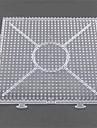 1pcs modèle clair grande plaque liable général 15 * 15cm carré pour perles hama 5mm perles fusibles