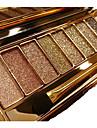 9 Colors Eyeshadow Palette Women Diamond Bright Shining Colorful Makeup Eye Shadow Flash Glitter Make Up Set With Brush