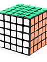 Shengshou® 부드러운 속도 큐브 5*5*5 속도 / 전문가 수준 매직 큐브 블랙 페이드 부드러운 스티커 조정 봄 ABS
