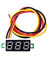 0.28 인치 미니 dc2.5-30v 볼트 전압 미터 디스플레이 디지털 전압계 주도