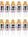 3W G4 Двухштырьковые LED лампы T 1 COB 300-350 lm Тёплый белый / Холодный белый / Естественный белый Декоративная / ВодонепроницаемыйAC