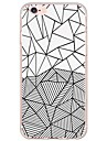 Geometric Pattern TPU Ultra-thin Translucent Soft Back Cover for Apple iPhone 6s Plus/6 Plus/ 6s/6/ SE/5s/5